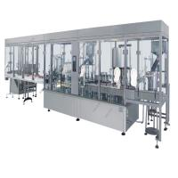 Buy cheap High speed eye drop filling capping machine ,small perfume filling machine for glass bottle ,spray filling machine from wholesalers