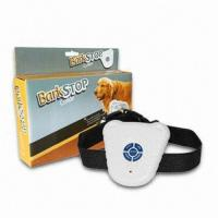 Quality New Ultrasonic Dog Anti Bark Collar Barking Stop for sale
