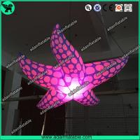 Quality New Brand Event Decoration Lighting Blue Inflatable Starfish/Ocean Event Decoration for sale