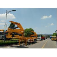Buy cheap XCMG 20ft Container Side Lifter With Max 37 Tons Load Capacity from wholesalers