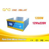 Buy cheap Automatic Protect 110 Volt To 12 Volt Power Inverter Single Phase product