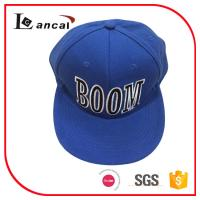 Buy cheap Mens 100% cotton twill snap back cap with embroidered , 57cm mens baseball hats Caps product