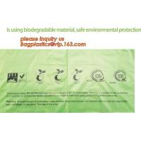 Quality Compostable Cornstarch Biodegradable Recycling Bags 100% Environment Friendly for sale