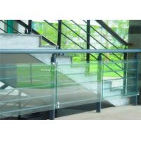 Quality Decorative Glass Railing Laminated Safety Glass Grey CE / CSI Approve for sale