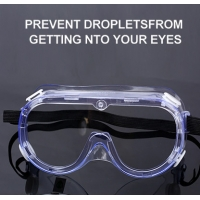 Quality Fogless Anti Scratch Eye Safety Goggles For Hospital for sale