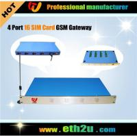 Buy cheap 4 Ports Gsm Gateway from wholesalers