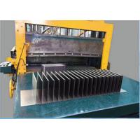 Quality Automatic Control Corrugated Fin Forming Machine , Fin Making Machine for sale