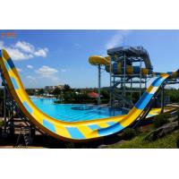 Quality Multi Color Boomerango Pool Water Slide Customized Color For Water Park for sale