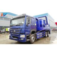 Quality Bulk Order Sinotruk Howo Garbage Collection Truck 12cbm / 10Tons Swing Arm for sale