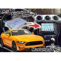 Quality Ford Mustang SYNC 3 Android GPS navigation box WIFI BT Google apps video interface for sale
