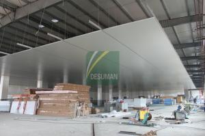 China EPS Foam Fire Retardant Insulated Ceiling Sandwich Panel on sale