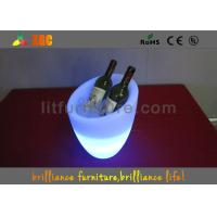 Cheap Colors change Glowing Furniture / LED ice bucket for bar wholesale