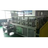 Buy cheap Automatic Coding Non Woven Mask Making Machine 80 / Minute Machine Speed product