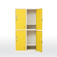 Quality BSCI 1850mm Height  Metal Wardrobe Cabinet for sale