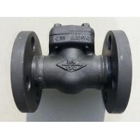 China 1/2 inch - 2 inch Forged Steel Check Valve , Class 150 / 800 / 900 / 1500 on sale