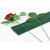 China Bwg26 Wire Thickness Paper Covered Wire For Decoration Art Flowers Making on sale