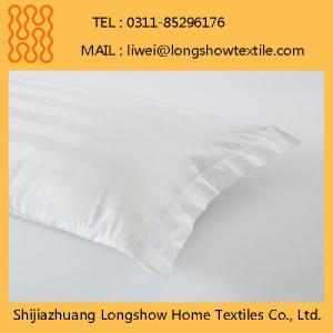 China Wholesale Decorative Waterproof Zipper 100%Cotton Pillow Case on sale