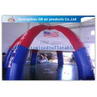 Buy cheap Colorful Outdoor Dome inflatable tailgate tent personalized canopy tent with 6 Legs product