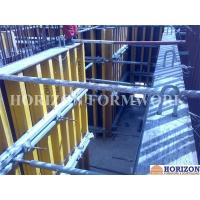 Quality Concrete Wall Forms Horizontal Push-Pull Prop Steel Pipe Q235 Galvanized Finishing for sale