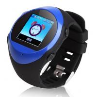 Buy cheap Unlocked GSM quad band GPS tracker watch mobile PG88 ,Clock mobile phone tracker from wholesalers