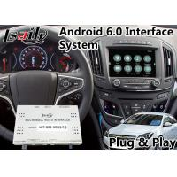 Quality Android 6.0 Auto Navigation Interface for 2013-2016 Opel Insignia Intellilink System Google Map for sale
