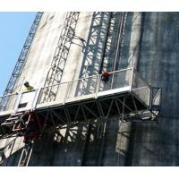 Buy cheap Frequency Drive Mast Climbing Work Platform Safety Single & Twin Tower from wholesalers