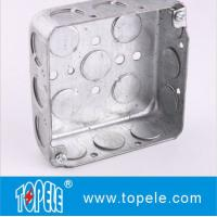 Quality TOPELE 52151 / 52161 / 52171 Galvanized Steel Square Electrical Outlet Box for sale