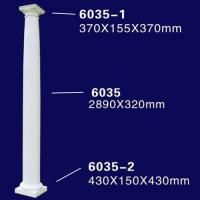 Quality Tall White Design Roman Pillar for Rebuild Historical Building for sale