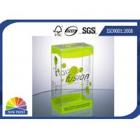 China Plastic Clamshell Packaging Transparent PVC Boxes with UV Coating Eco-friendly and Recycled on sale