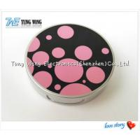 China Promotional Pocket Makeup Mirror Cosmetic Compact Mirror With Music on sale