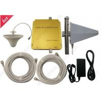 Quality PCS and CDMA 850mhz/1900mhz dual band mobile phone signal repeater 3G mobile phone booster for sale