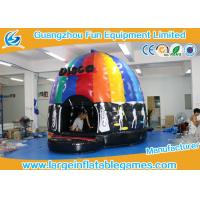 Buy cheap 4mH 5m Dia Musical Inflatable Bouncy Castle Inflatable Dome Disco Jumping Area product
