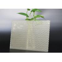 China China silk screen printing ceramic frit color painted tempered glass panels on sale