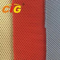 Non - Woven / Knitting Backing Spacer 100% Polyester Mesh Fabric For Cover
