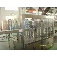 Quality 330-2000ml Carbonated Drink Filling Machine , Glass Bottle Sparkling Water Filling Machine for sale