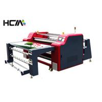 Quality 420mm Diameter Drum Sublimation Printing Machine For Textiles / Polyester Fabrics for sale