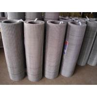 China 304 / 316 Stainless Steel Crimped Wire Mesh , Weaving Electo Galvanized Iron Wire on sale