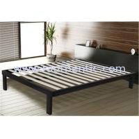 Buy Sturdy queen steel frame double bed with Corner and Floor protector modern bedroom furniture at wholesale prices