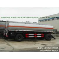 China Manufactures high quality fuel tankers Pup Trailer  25000L Fuel Tank Full Trailer for sale WhatsApp:8615271357675 on sale