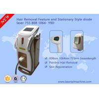 Quality Depilation Diode Laser Hair Removal Machine 3 Wavelength 755nm 808nm 1064nm for sale