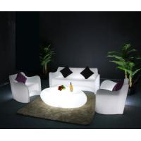 Buy cheap Illuminated Glow LED Plastic Garden Table And Chairs For Bar KTV Party from wholesalers