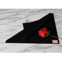 Quality Women Skirts Black Coating Wool Fabric With 30% Polyester 600g Per Meter for sale