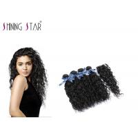 Quality 4 Pcs Unprocessed Human Hair Bundles , Long Peruvian Unprocessed Virgin Remy Hair for sale