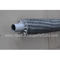 Quality A179 / A192 / SA210 SMLS Carbon Steel tube , OD25.4mm I Type Threaded Steel Fin Tube for sale