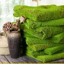 Green Silk Cloth Moss Artificial Grass Vertical Garden Wall Panles Size 1*1m for sale