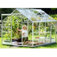Buy cheap Small Hobby Flower Garden Greenhouse With Casement Door Simple Firm from wholesalers