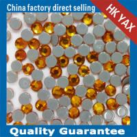 China Round Stones Hot Fix Garment Accessories Stones for Hot Sale-High Quality Swainstone 12-14 Facets Stones on sale
