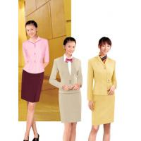China Polyester / Cotton Business Corporate office uniforms Long Sleeve on sale