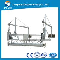 Quality zlp800/ zlp630 China Customized Safety Suspended Work Platforms Cradle Scaffolding for sale