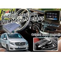 Quality Mercedes benz V class Vito android car navigation box mirrorlink gps navigation for car for sale